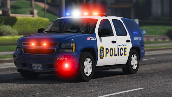 Police Spooky Jeep Parking Simulator – Car Driving v1.4 screenshots 7