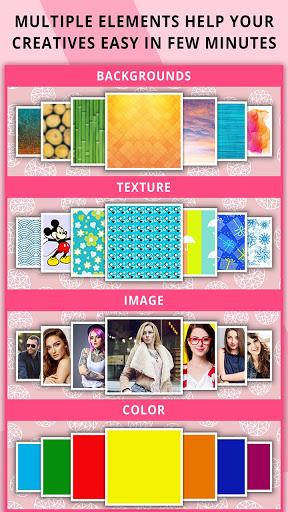 Poster Maker Flyer Designer Ads Page Designer v3.7 screenshots 12