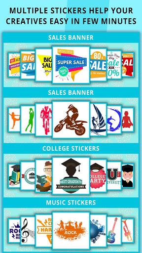 Poster Maker Flyer Designer Ads Page Designer v3.7 screenshots 8