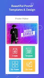 Poster Maker Flyers Banner Logo Ads Page Design v screenshots 4