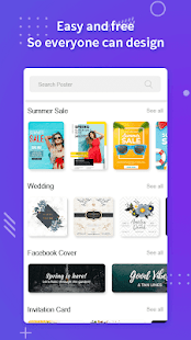 Poster Maker Flyers Banner Logo Ads Page Design v screenshots 5