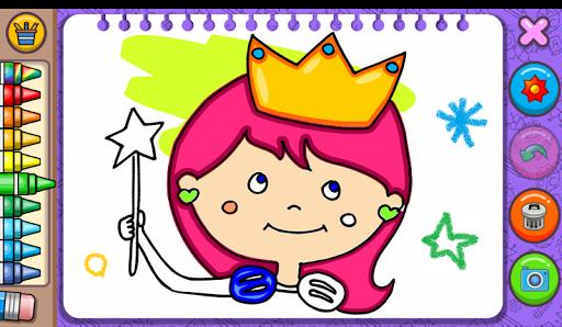Princess Coloring Book amp Games v1.54 screenshots 1