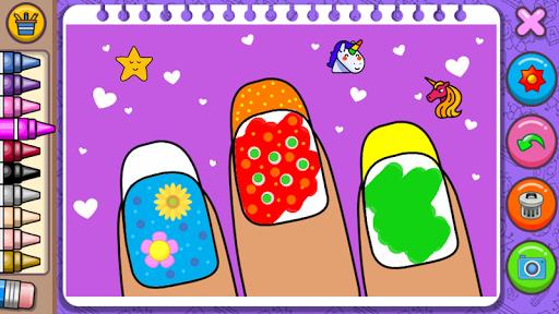 Princess Coloring Book amp Games v1.54 screenshots 19