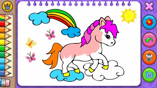 Princess Coloring Book amp Games v1.54 screenshots 2