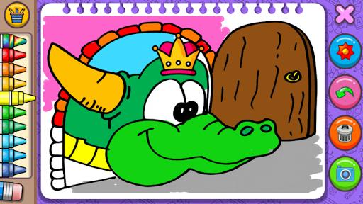Princess Coloring Book amp Games v1.54 screenshots 5