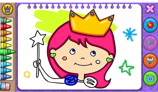 Princess Coloring Book amp Games v1.54 screenshots 9