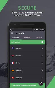 ProtonVPN Outdated – See new app link below v1.4.54 screenshots 1