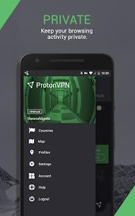 ProtonVPN Outdated – See new app link below v1.4.54 screenshots 5