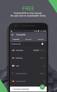 ProtonVPN Outdated – See new app link below v1.4.54 screenshots 6