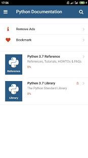 Python 3.7 Docs v1.1.0 screenshots 1