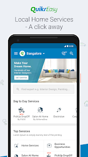 Quikr Search Jobs Mobiles Cars Home Services v11.18 screenshots 3