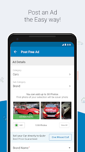 Quikr Search Jobs Mobiles Cars Home Services v11.18 screenshots 7
