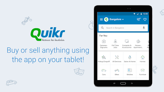 Quikr Search Jobs Mobiles Cars Home Services v11.18 screenshots 9