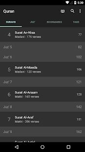 Quran for Android v screenshots 1
