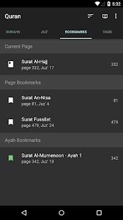 Quran for Android v screenshots 3