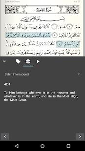 Quran for Android v screenshots 5