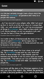 Quran for Android v screenshots 7
