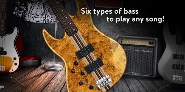 REAL BASS Electric bass guitar free v6.30.18 screenshots 3