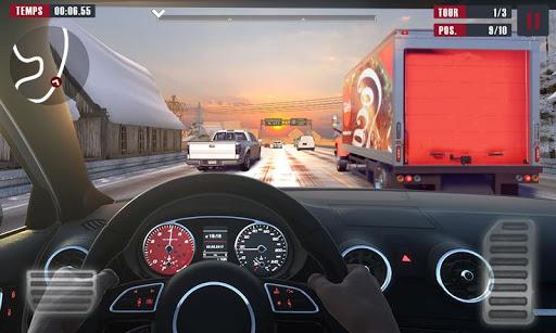 Racing Traffic Car Speed v1.2 screenshots 1