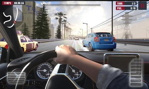 Racing Traffic Car Speed v1.2 screenshots 11