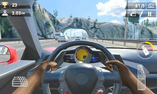 Racing Traffic Car Speed v1.2 screenshots 17