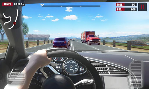 Racing Traffic Car Speed v1.2 screenshots 6