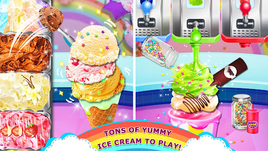 Rainbow Ice Cream – Unicorn Party Food Maker v1.8 screenshots 4