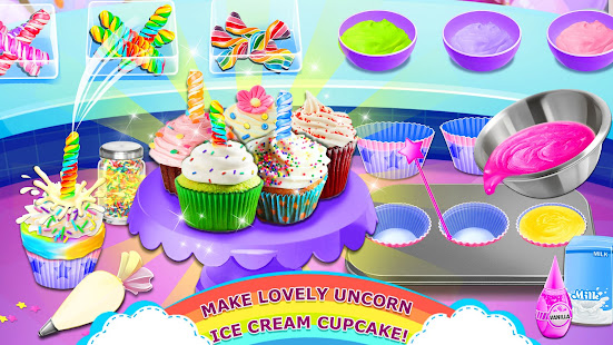 Rainbow Ice Cream – Unicorn Party Food Maker v1.8 screenshots 7