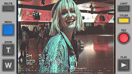 Rarevision VHS Camcorder Lite Retro 80s Cam v1.6.2 screenshots 1