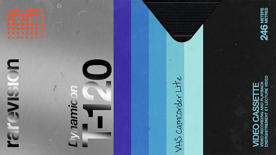Rarevision VHS Camcorder Lite Retro 80s Cam v1.6.2 screenshots 2