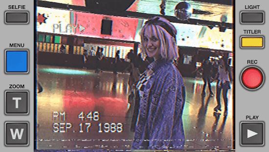 Rarevision VHS Camcorder Lite Retro 80s Cam v1.6.2 screenshots 3