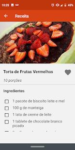 Receitas Fceis v1.0.8 screenshots 6