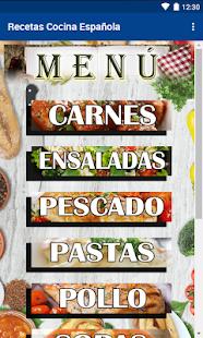 Recetas Cocina Espaola v1.63 screenshots 1