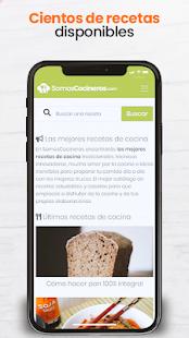 Recetas de cocina gratis – Somos Cocineros v1.3 screenshots 1