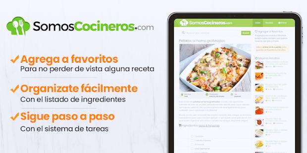 Recetas de cocina gratis – Somos Cocineros v1.3 screenshots 5