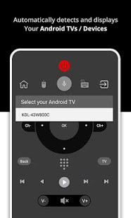 Remote for Android TVs Devices CodeMatics v1.16 screenshots 2