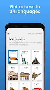Rosetta Stone Learn Practice amp Speak Languages v8.10.0 screenshots 3