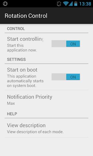 Rotation Control v1.0 screenshots 2