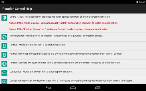 Rotation Control v1.0 screenshots 4