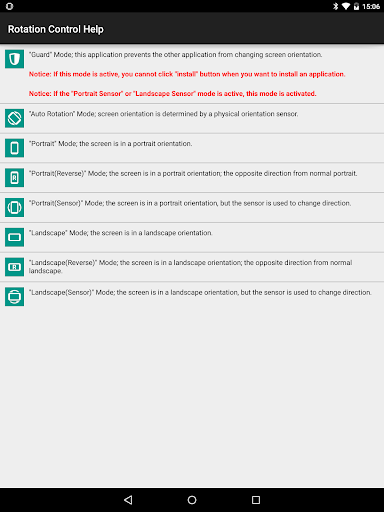 Rotation Control v1.0 screenshots 7