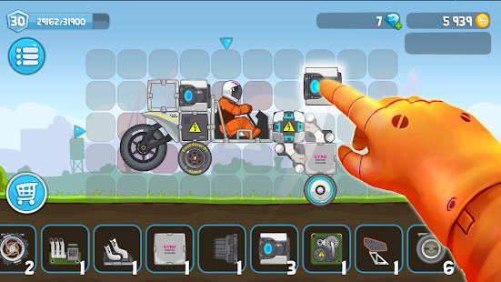 Rovercraft Race Your Space Car v screenshots 2