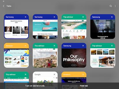 Samsung Internet Browser Beta v screenshots 13