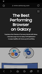 Samsung Internet Browser Beta v screenshots 2
