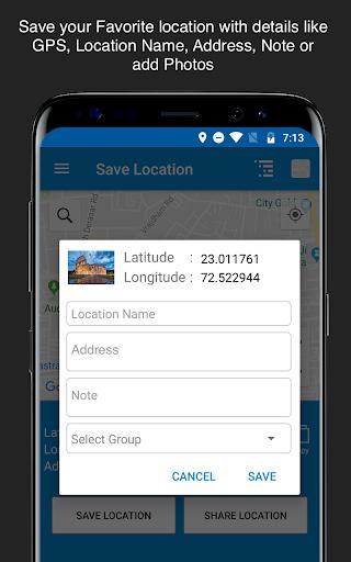 Save Location GPS v7.0 screenshots 2