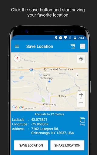 Save Location GPS v7.0 screenshots 4