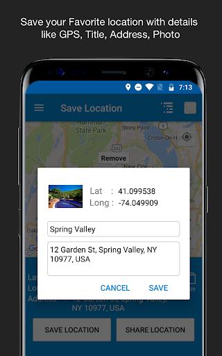 Save Location GPS v7.0 screenshots 5