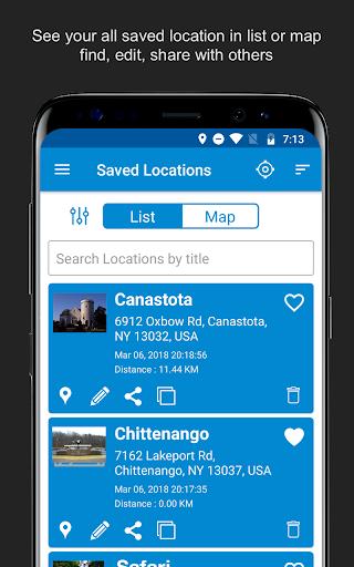 Save Location GPS v7.0 screenshots 6