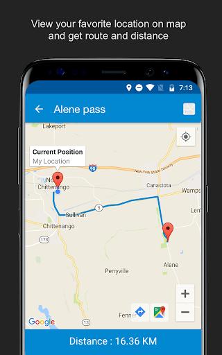 Save Location GPS v7.0 screenshots 8