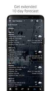 Sense Flip Clock amp Weather v5.96.2 screenshots 14