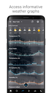 Sense Flip Clock amp Weather v5.96.2 screenshots 5